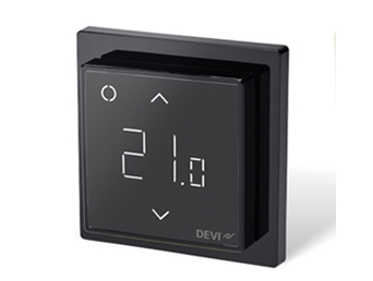 Терморегулятор Devireg Smart Pure Black c WI-FI